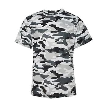Badger - Camo Youth Short Sleeve T-Shirt - 2181
